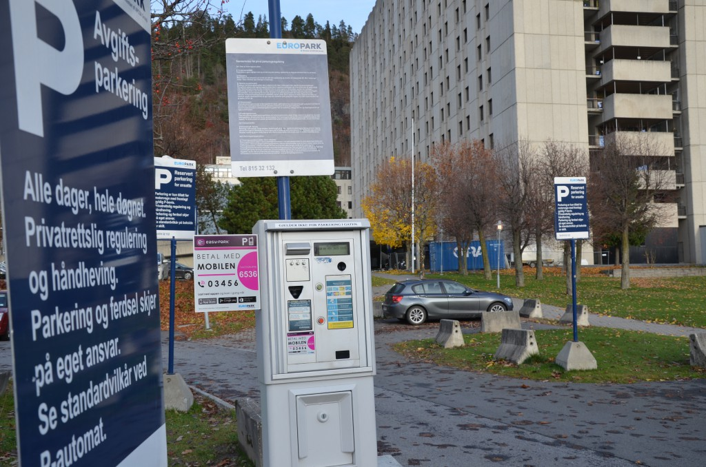 Sykehusparkering