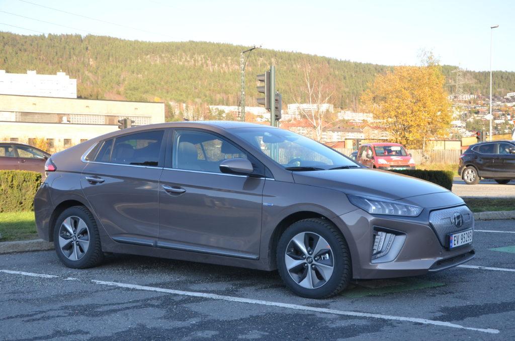 HYUNDAI IONIQ ELECTRIC : Hyundai oppgraderer Ioniq