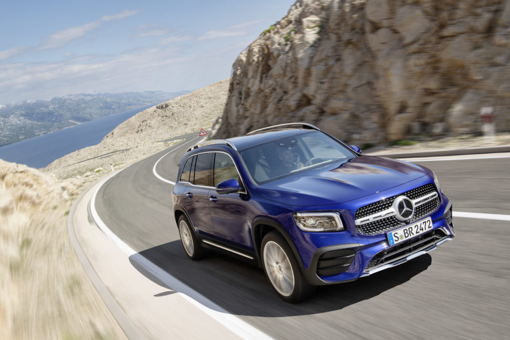 Mercedes-Benz GLB, galaxyblau   Mercedes-Benz GLB, galaxy blue
