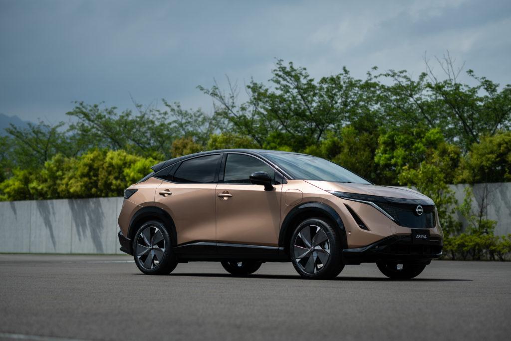 Nissan Ariya front 12